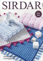 Sirdar Snuggly Sweetie - 5193 Blankets Knitting Pattern